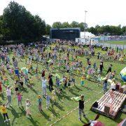Recordpoging Salsa Dansen KVW Groesbeek